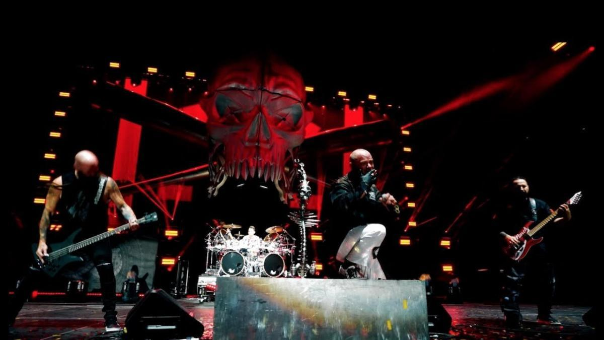 Five Finger Death Punch diffuse un clip vidéo pour Inside Out !