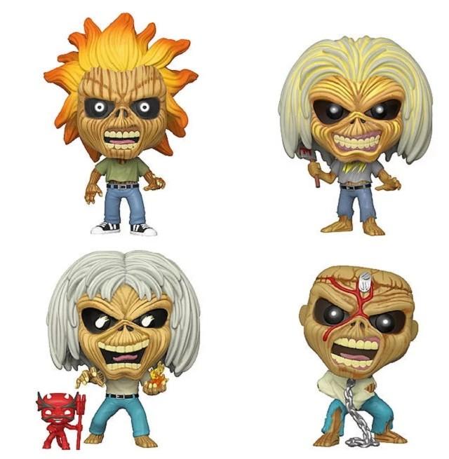 Iron Maiden s'associe à Funko pour créer des figurines [Heavy Metal ;)]