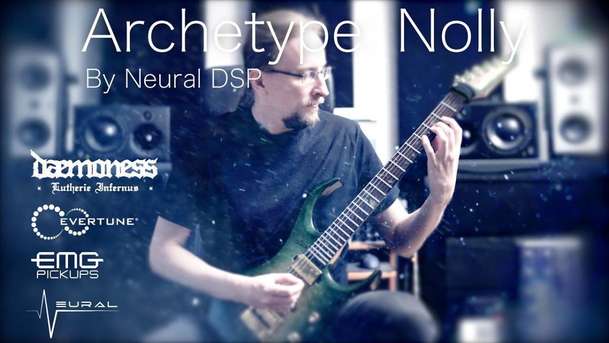 Jari Mäenpää de Wintersun partage un test de Archetype : Nolly par Neural DSP