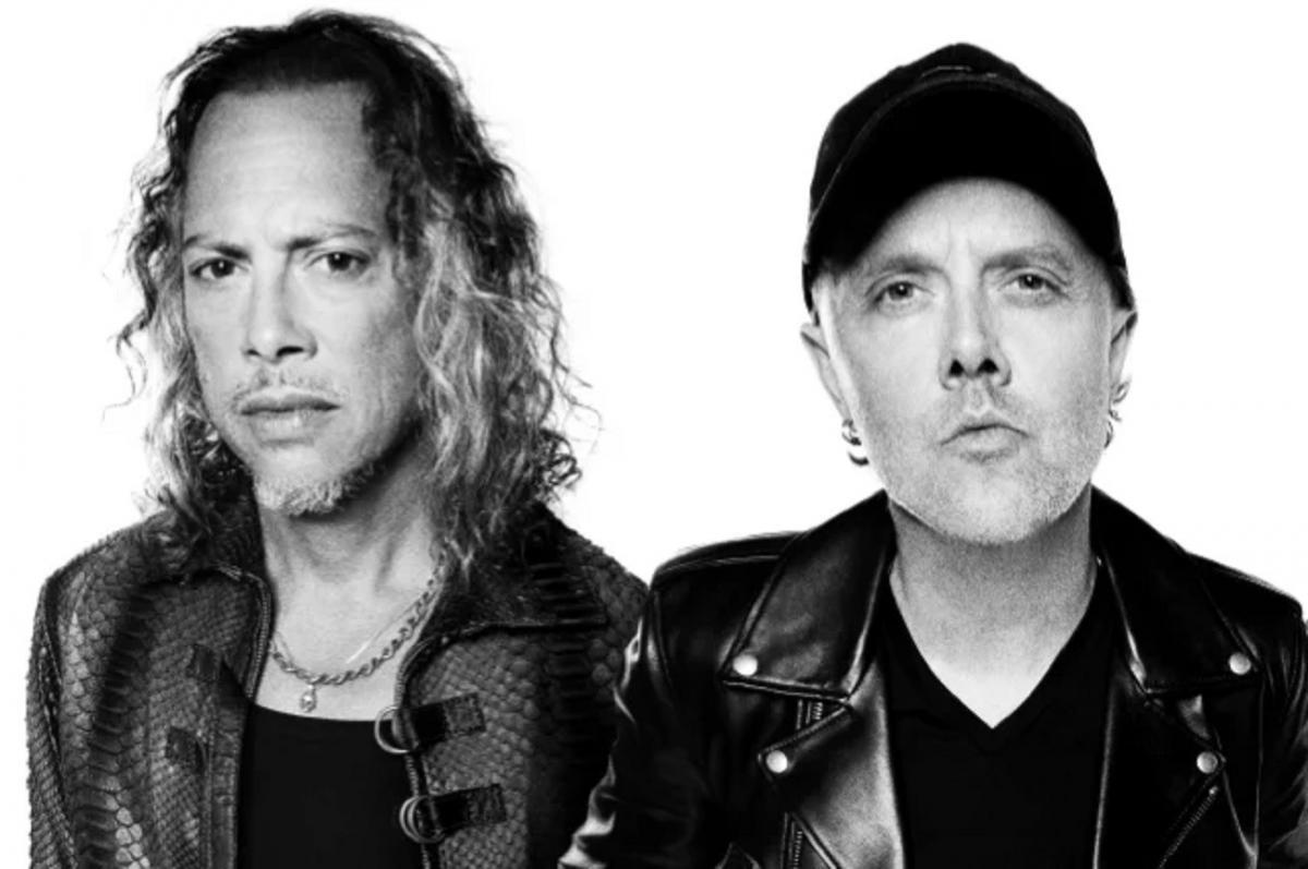 Kirk Hammett de Metallica écrit un message tout mignon pour l'anniversaire de Lars Ulrich