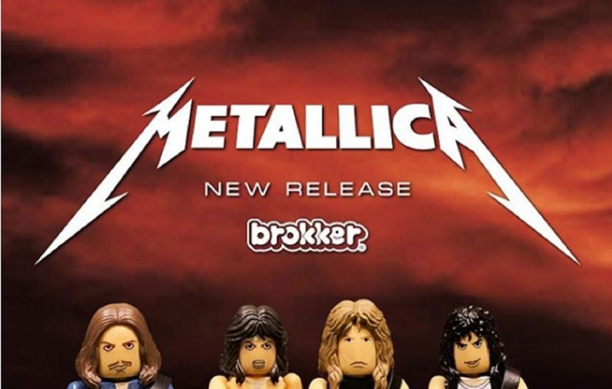 De nouvelles figurines Metallica, Rage Against The Machine & Mötley Crüe sont disponibles