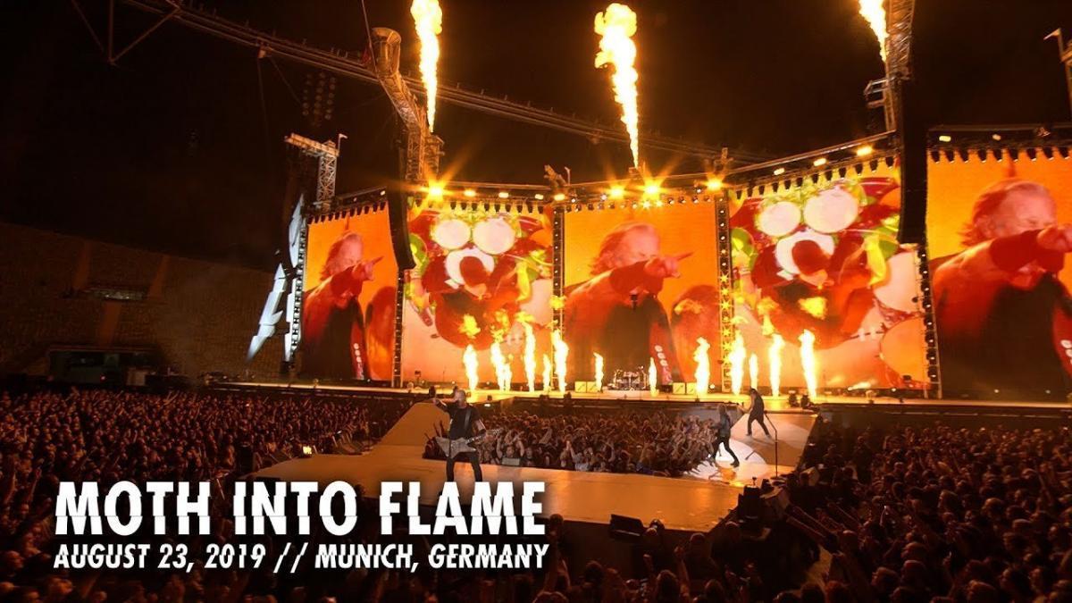 Metallica publie une vidéo live de Moth Into Flame à Munich