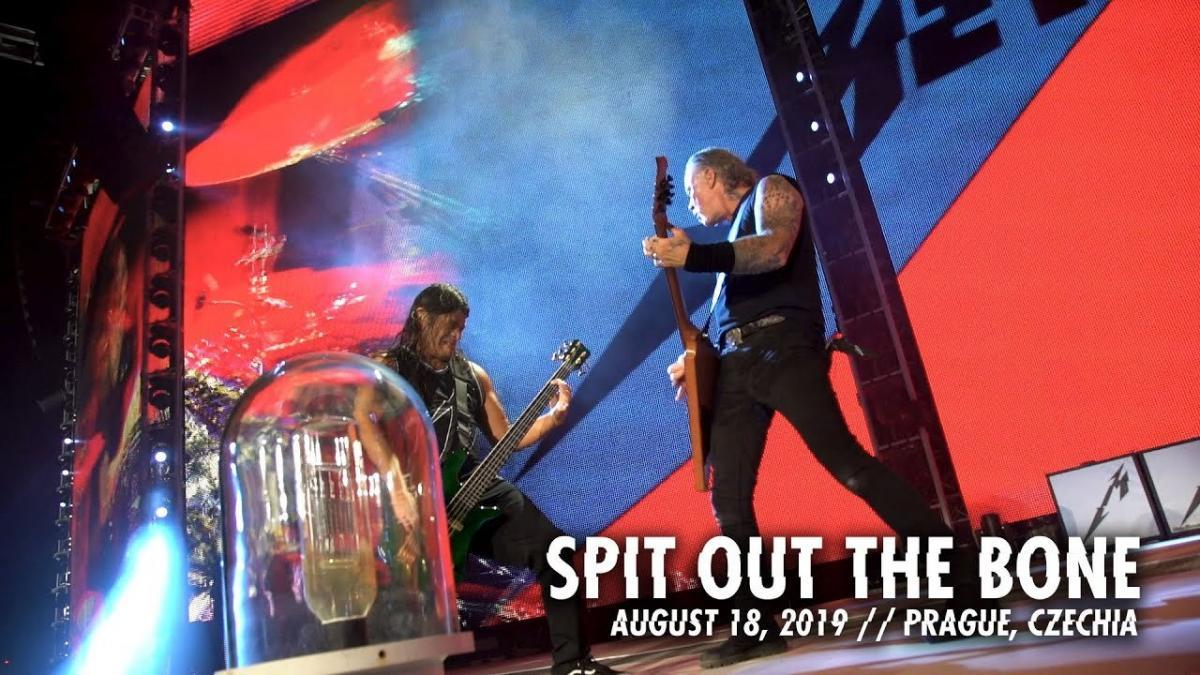 metallica spit out the bone live 2018