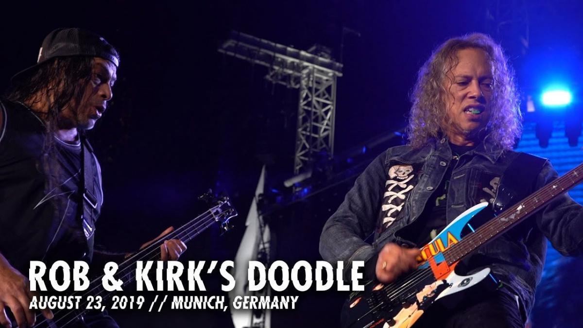 Metallica partage un nouveau doodle de Rob & Kirk à Munich