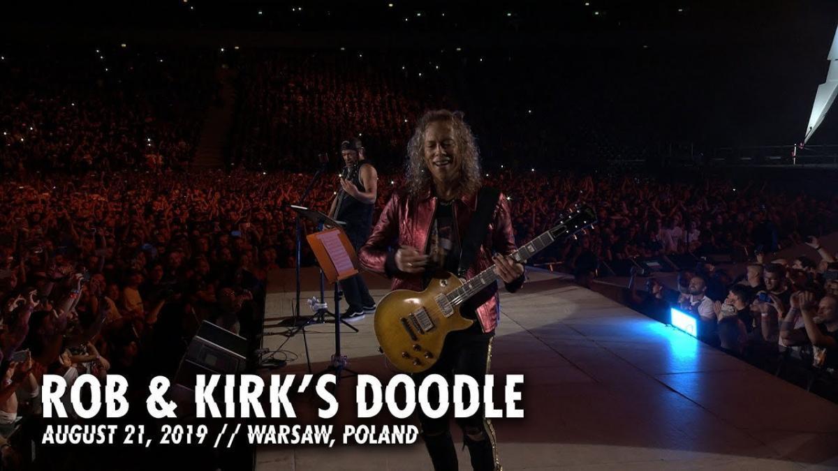 Metallica partage un nouveau doodle de Rob & Kirk à Varsovie