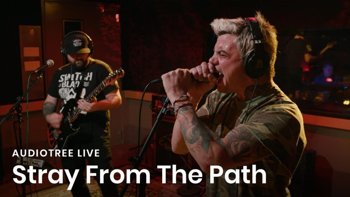 Stray From The Path partage sa performance live chez Audiotree