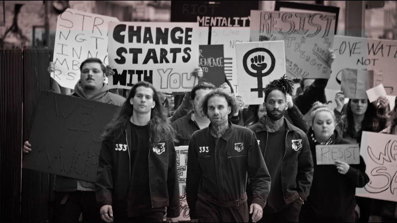 Fever 333 publie un court métrage intitulé Elephant