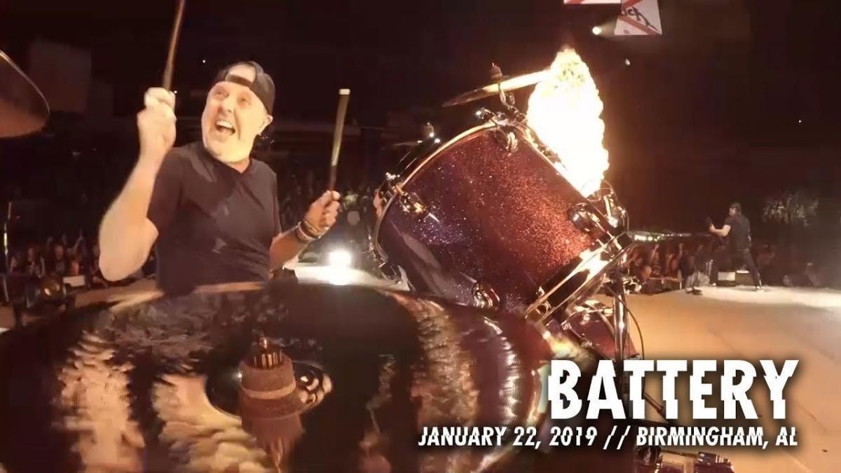 Metallica publie une vidéo live de Battery à Birmingham