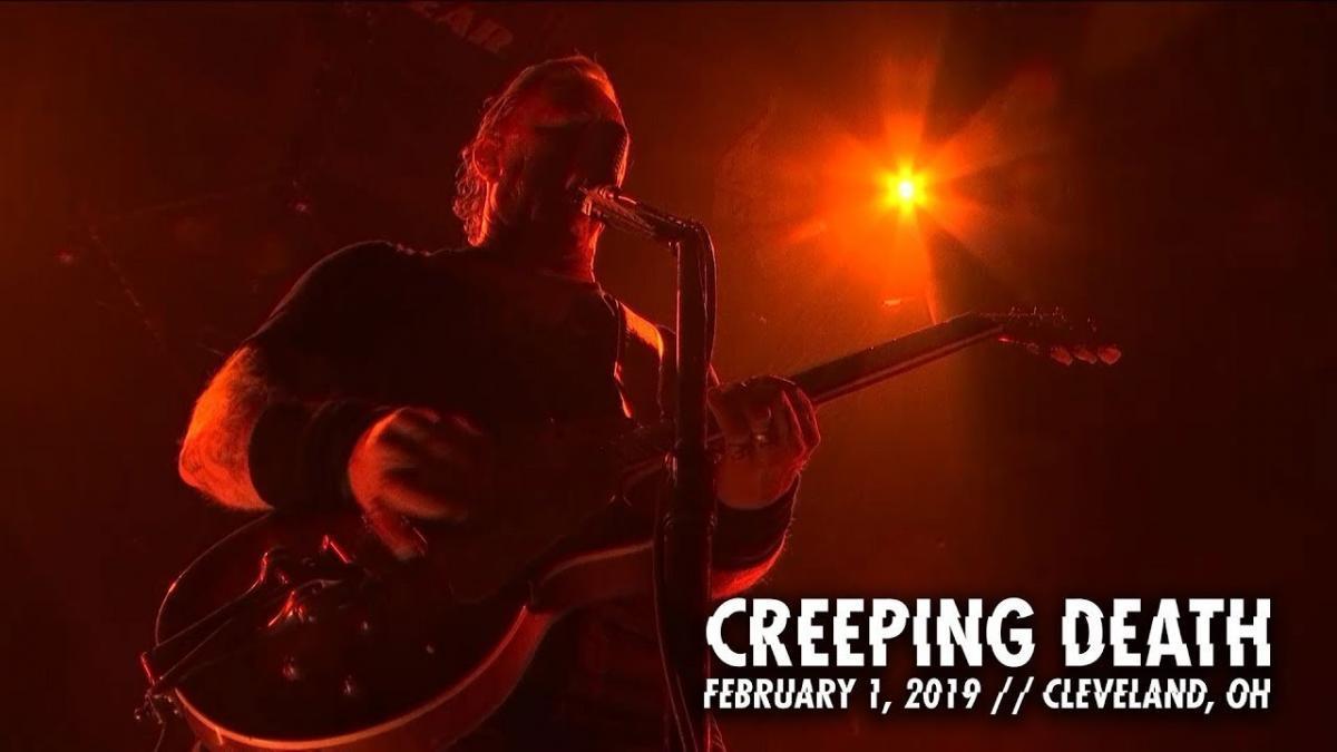 Metallica sort une vidéo live de Creeping Death à Cleveland