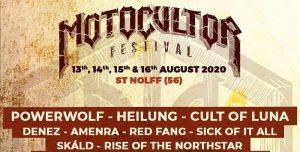 Cult Of Luna sera au Motocultor Festival 2020 !