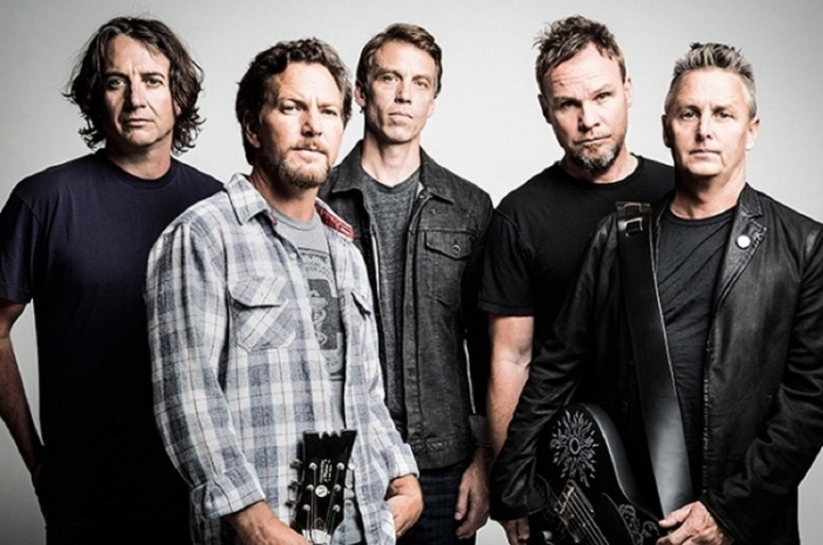 Écoutez Gigaton, le nouvel album de Pearl Jam