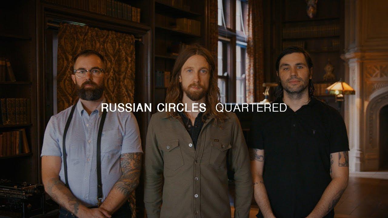 Regardez Russian Circles jouer du Post-Rock et du Post-Metal en live pour Audiotree