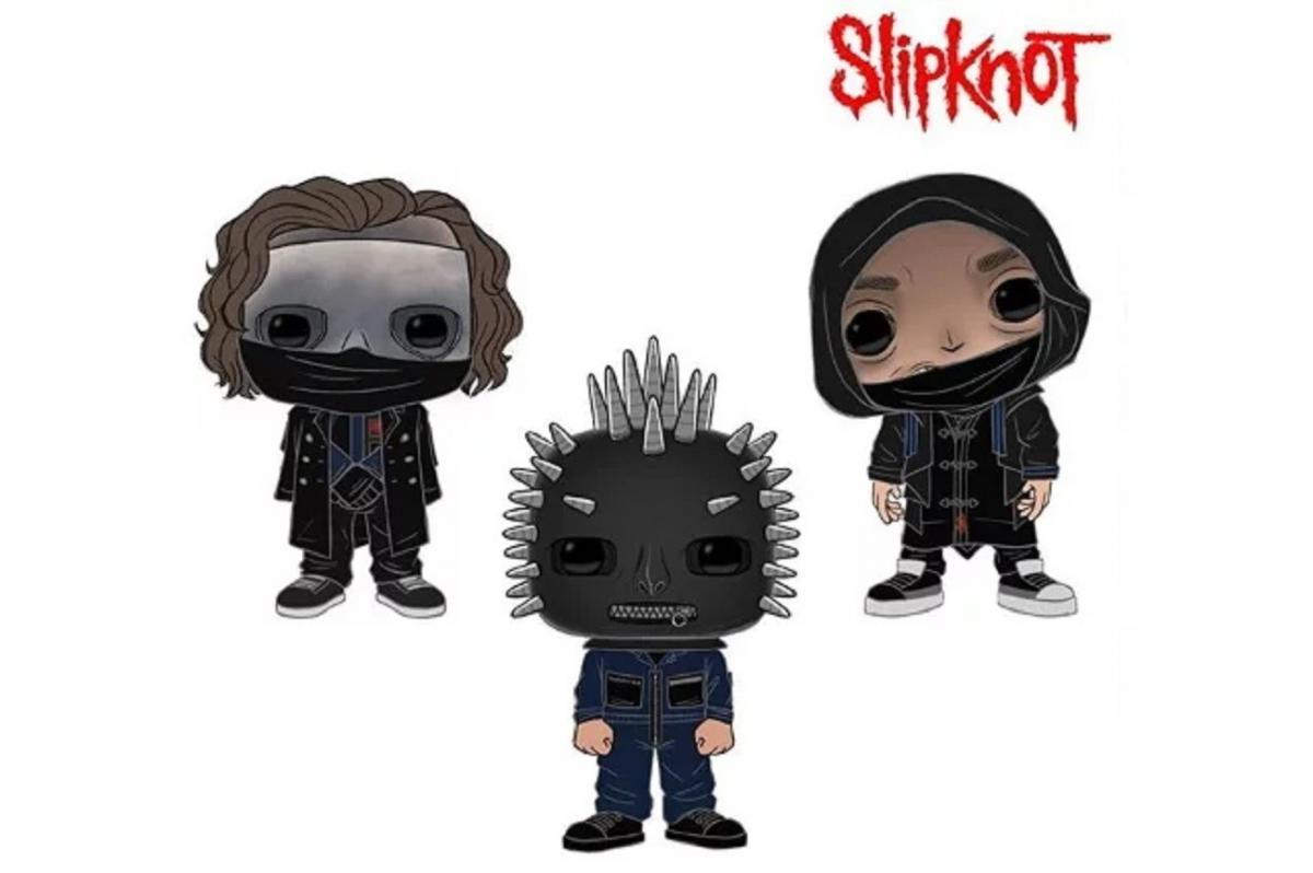 Funko va sortir des figurines Slipknot, Slayer, Ghost et Motörhead