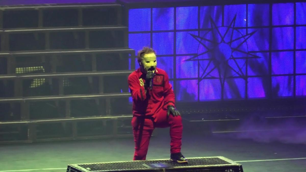 Regardez Slipknot jouer du lourd à Glasgow