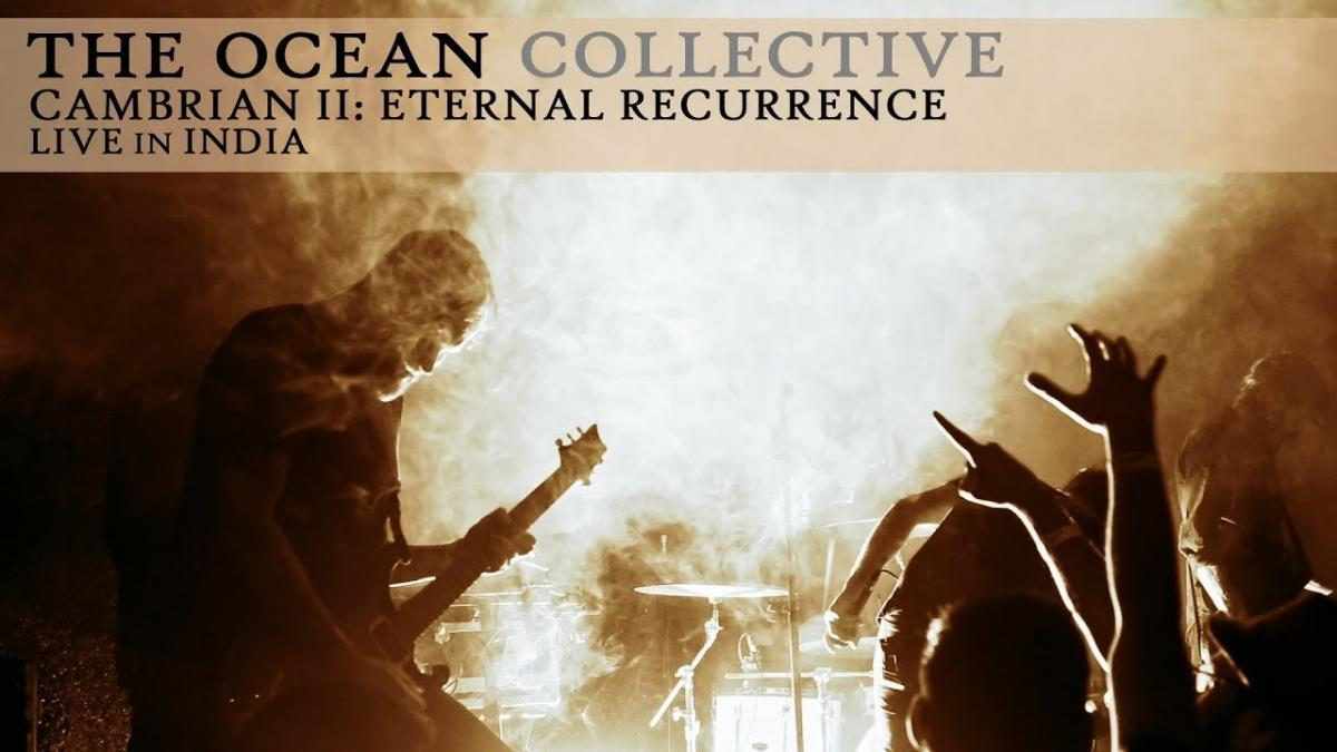 The Ocean partage son excellente performance live de Cambrian II : Eternal Recurrence en Inde