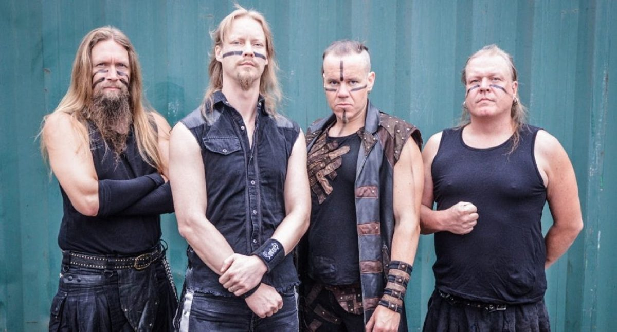 Ensiferum a fini d'enregistrer son nouvel album