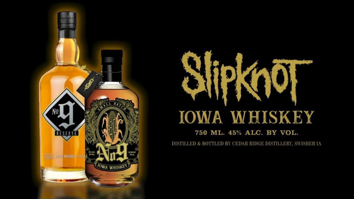 Slipknot : Le Whiskey IOWA N°9 du groupe de Metal est disponible en France