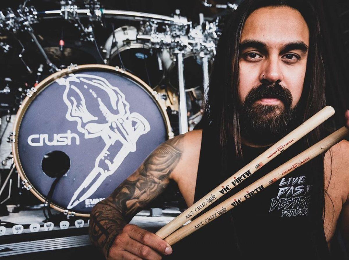 Art Cruz dit que Lamb Of God était son groupe préféré avant d'être engagé en tant que remplaçant de Chris Adler