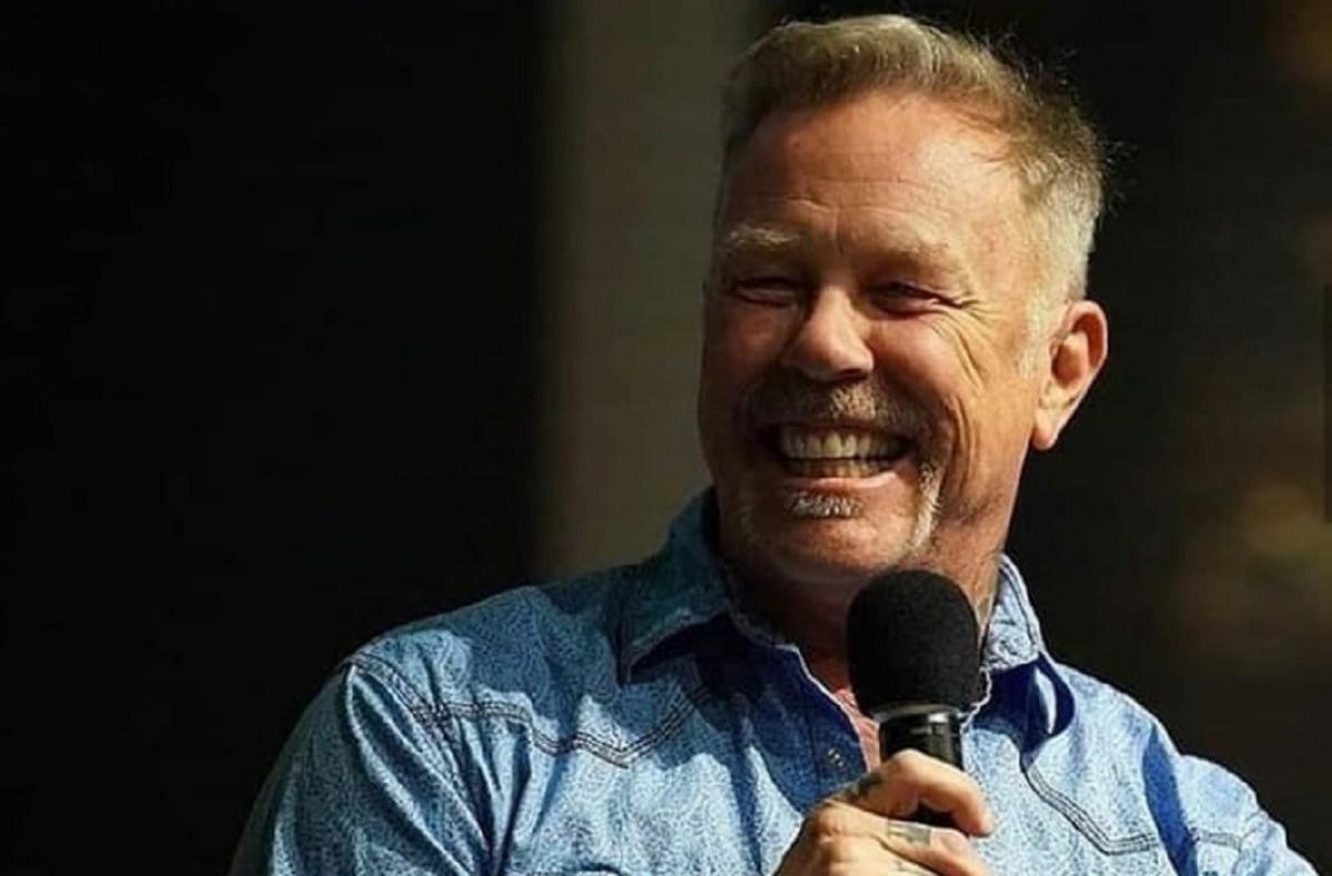 James Hetfield de Metallica fait son retour en public !