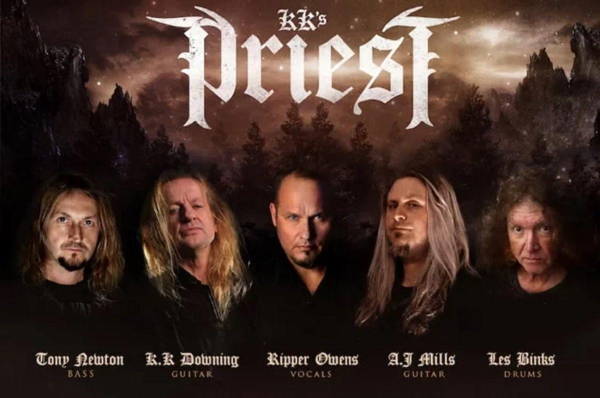 """K.K. Downing s'associe à Tim """"Ripper"""" Owens et Les Binks dans le nouveau groupe KK's Priest (leur version de Judas Priest)"""