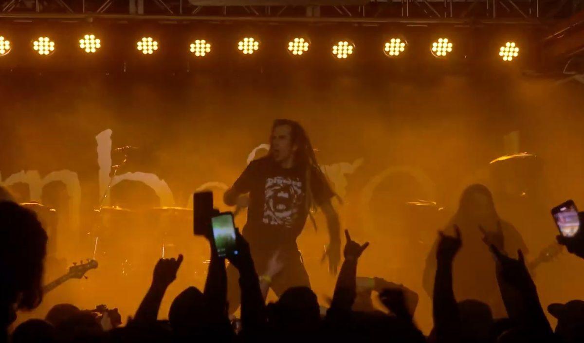 Lamb Of God : Regardez le concert complet du groupe de Metal à Chicago