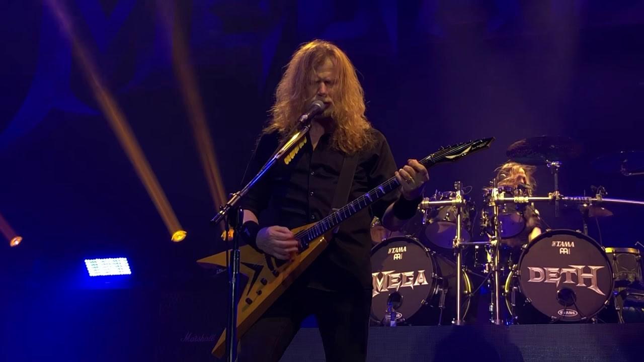 Regardez Megadeth jouer Dread And The Fugitive Mind en live pour la première fois depuis des années - MetalZone