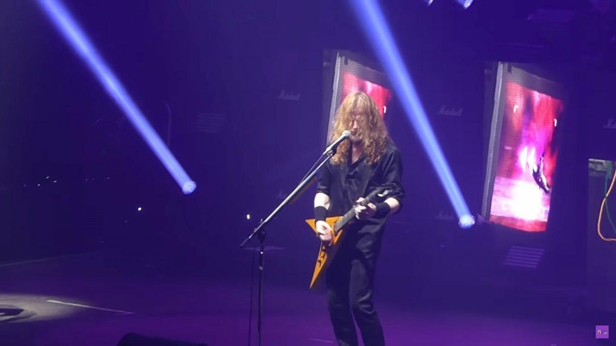 Regardez le concert complet de Megadeth à Londres