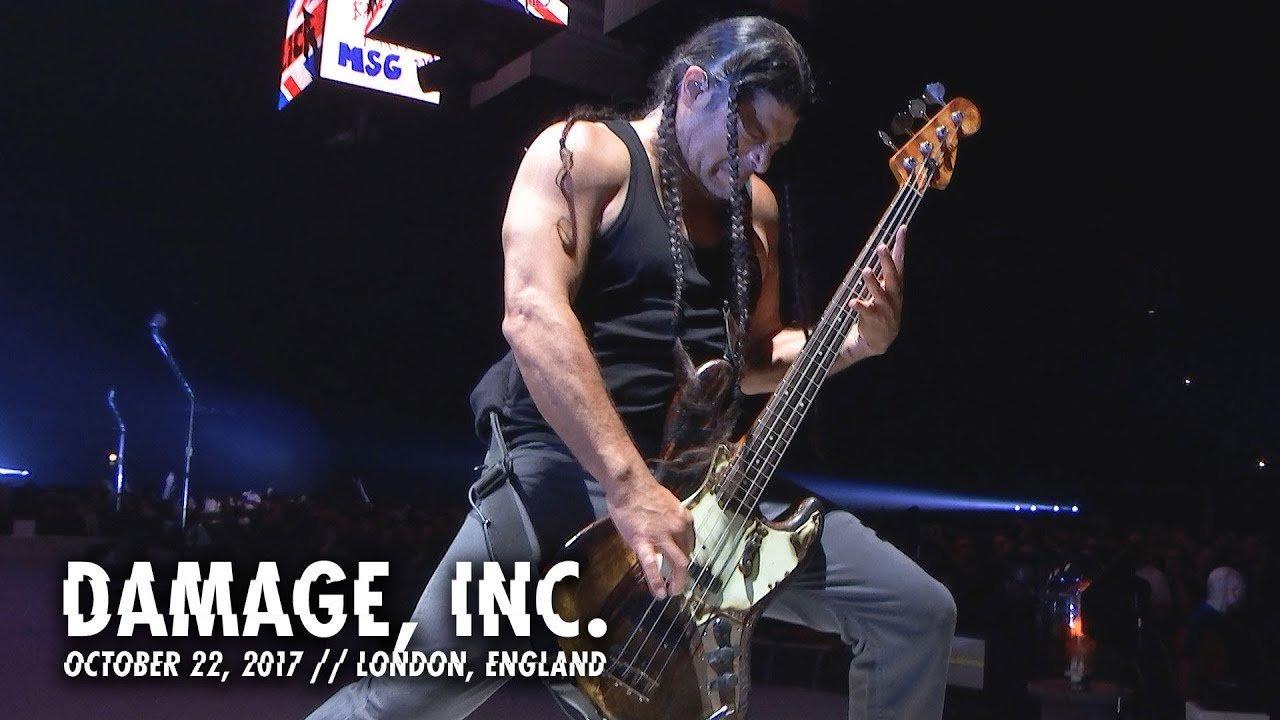 Metallica partage une vidéo live de Damage, Inc. à Londres - MetalZone