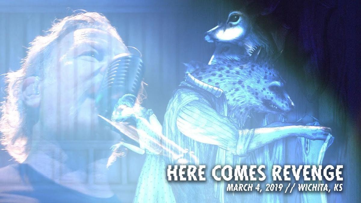 Metallica sort une vidéo live de Here Comes Revenge à Wichita