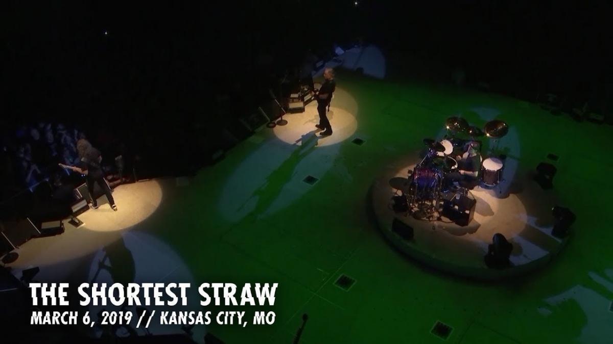 Metallica partage une vidéo live de The Shortest Straw à Kansas City