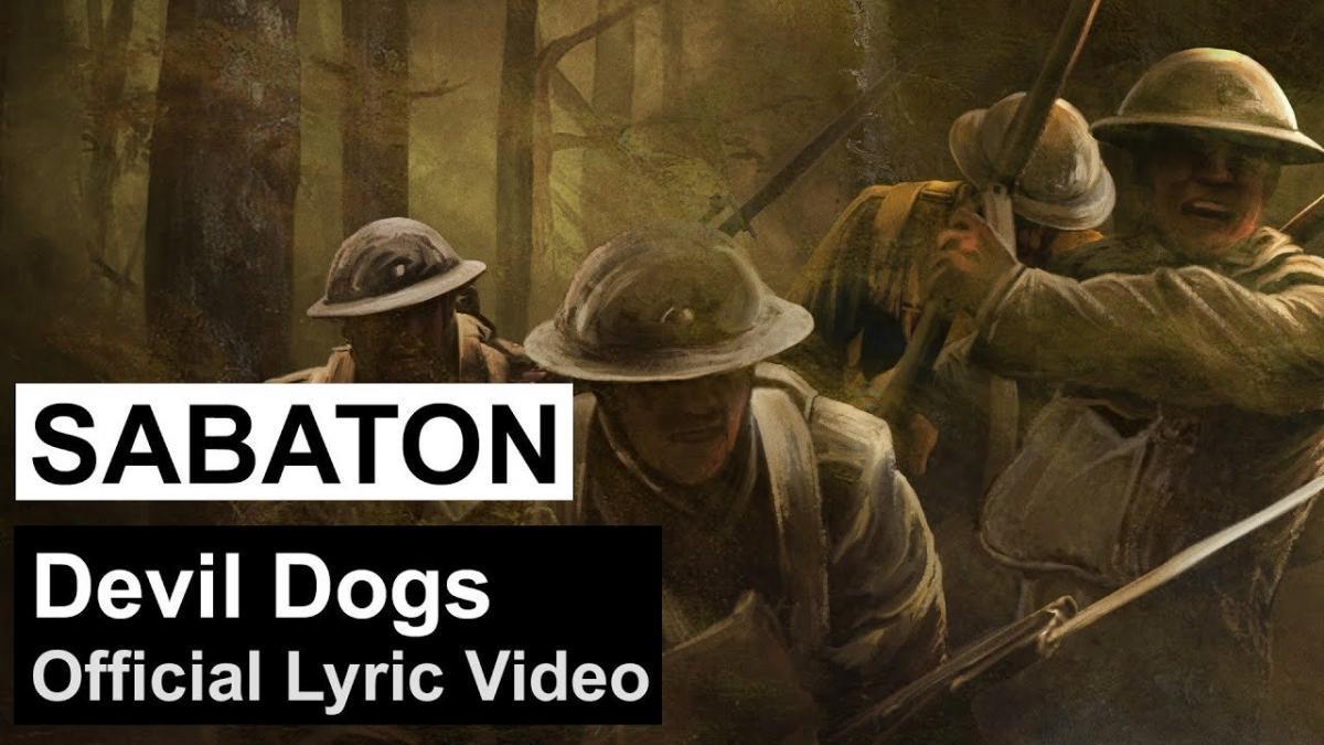 Sabaton publie une lyric vidéo pour Devil Dogs