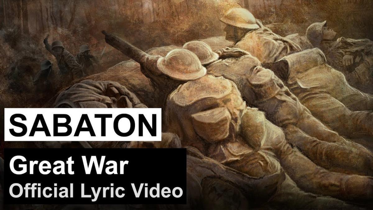 Sabaton publie une lyric vidéo pour Great War