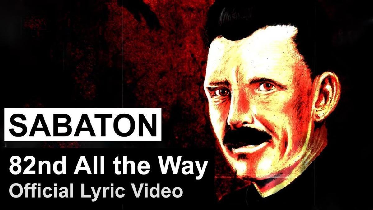 Sabaton publie une lyric vidéo pour 82nd All the Way