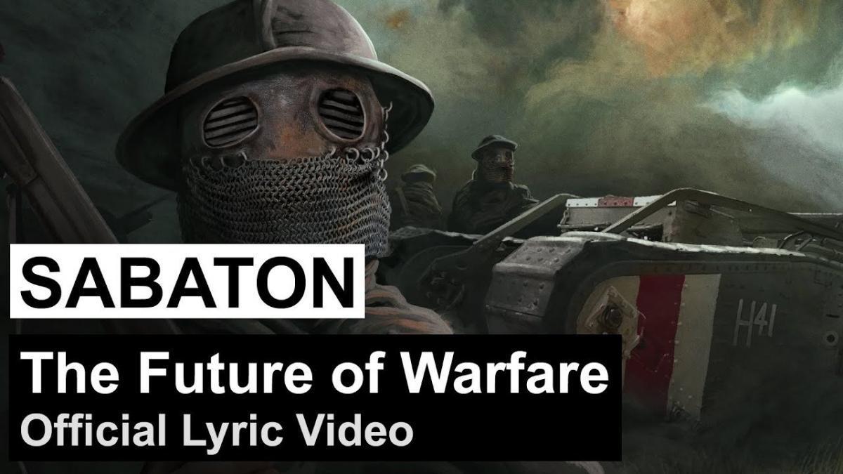 Sabaton partage une lyric vidéo pour The Future of Warfare