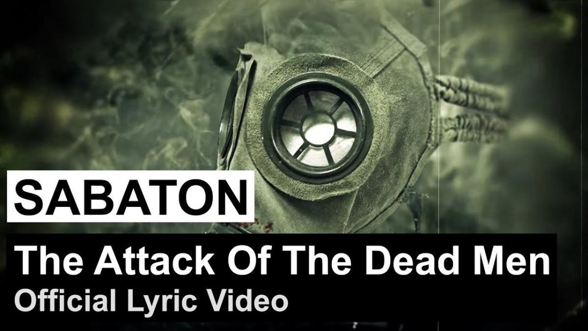 Sabaton partage une lyric vidéo pour The Attack Of The Dead Men