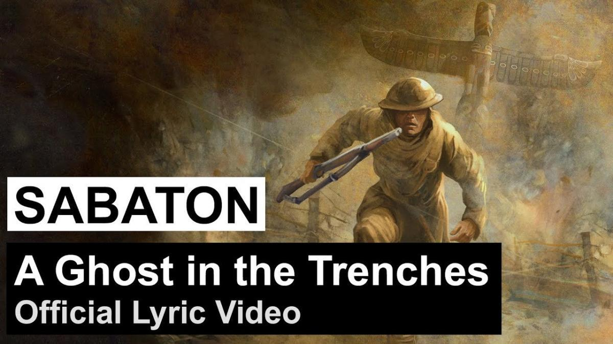 Sabaton partage une lyric vidéo pour A Ghost in the Trenches