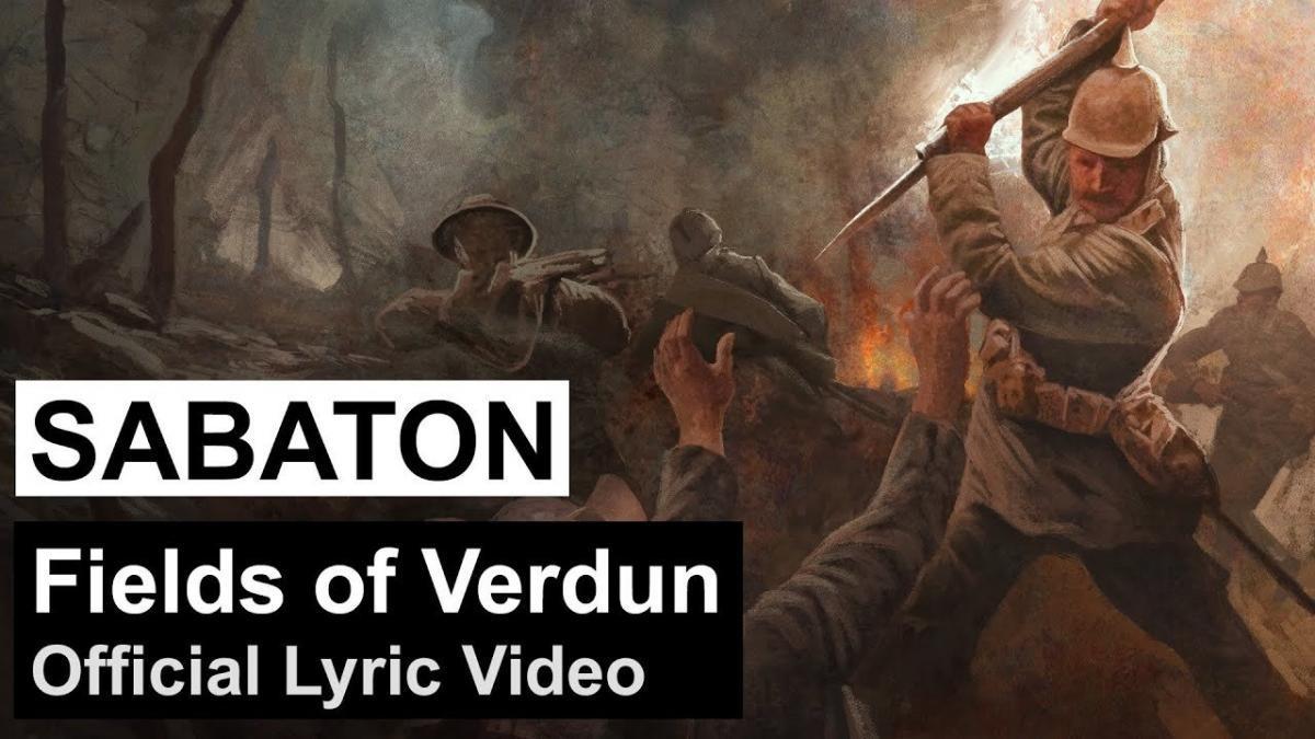 Sabaton publie une lyric vidéo pour Fields of Verdun