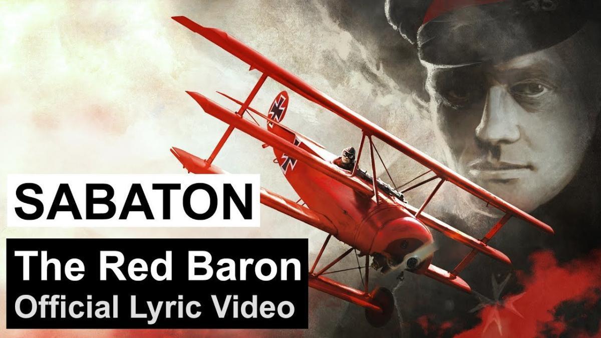 Sabaton partage une lyric vidéo pour The Red Baron