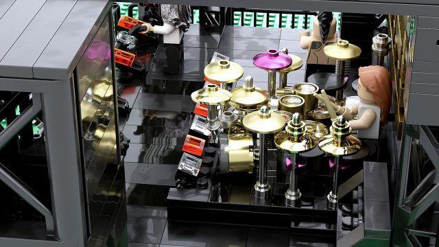 Tool : Un fan a créé un set de LEGO de folie sur le groupe de Metal