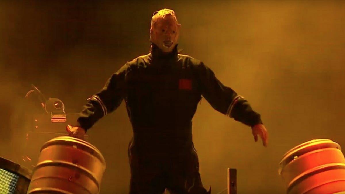 Tortilla Man de Slipknot s'est ouvert le visage sur scène