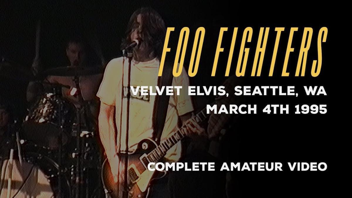Foo Fighters : Un des premiers concerts du groupe de Rock vient de faire surface en ligne