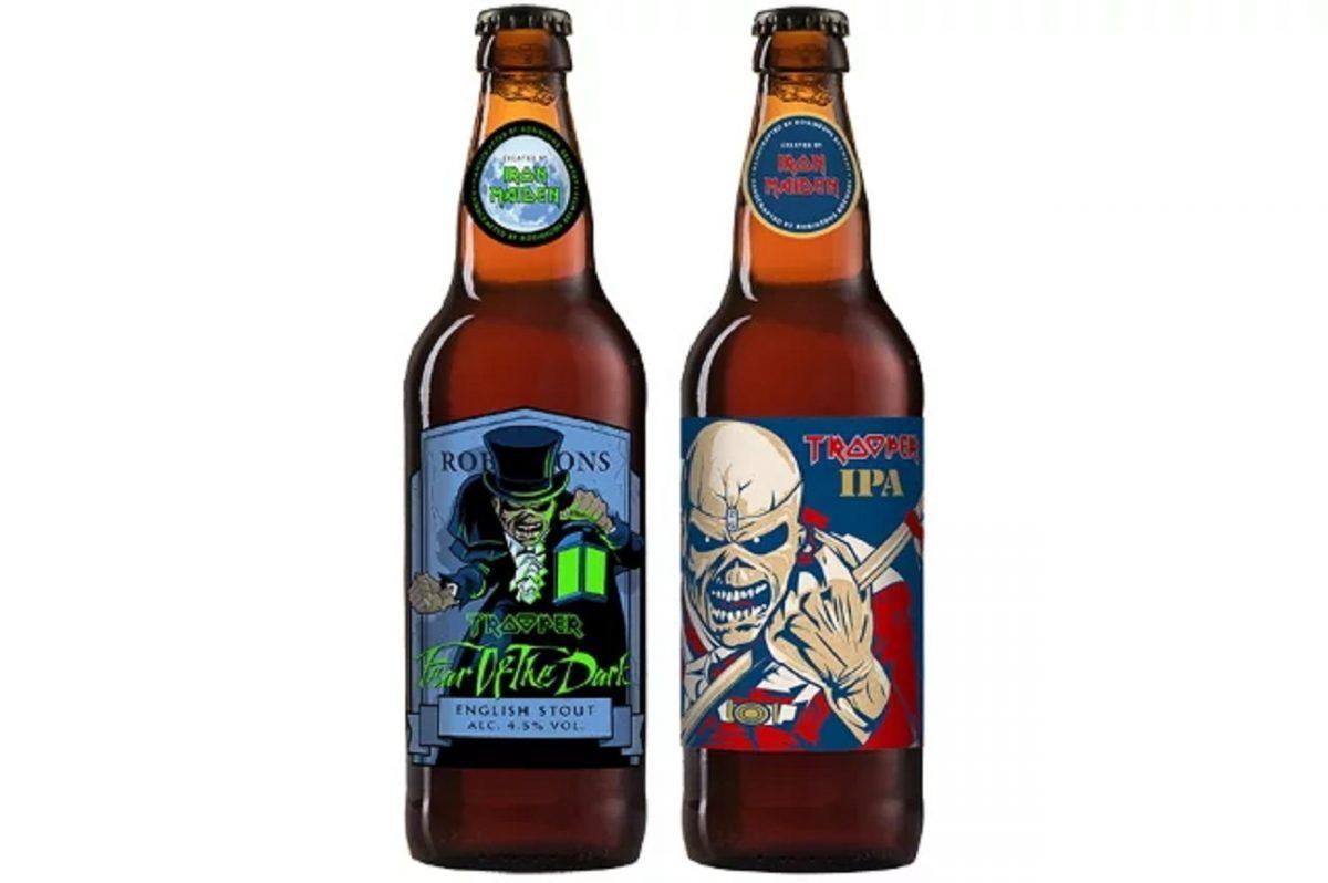 Iron Maiden annonce 2 nouvelles bières dans la gamme Trooper