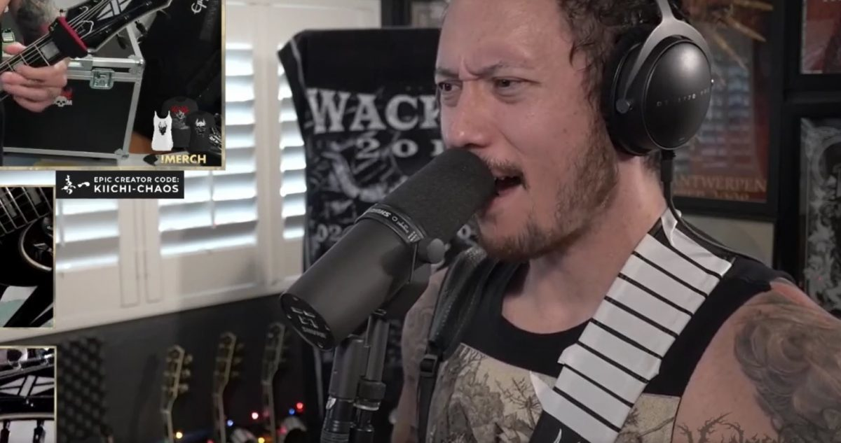 Matt Heafy de Trivium joue Shogun en entier sur Twitch