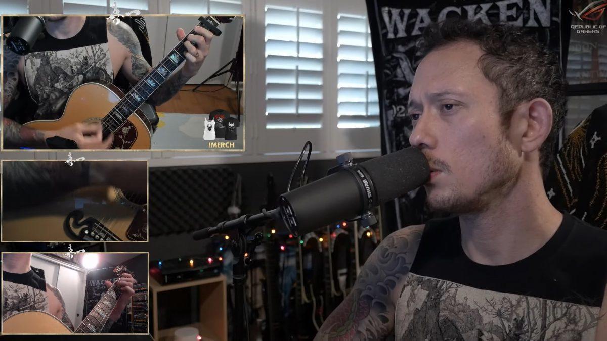 Matt Heafy de Trivium partage une reprise acoustique de Machine Head