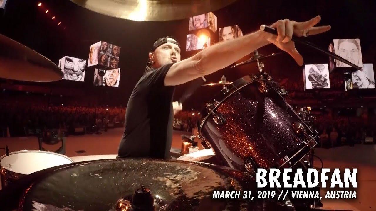 Metallica sort une vidéo live de Breadfan à Vienne - MetalZone