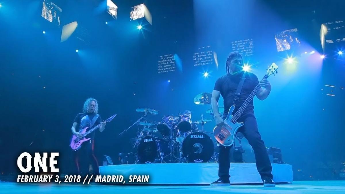 Metallica sort une vidéo live de One à Madrid