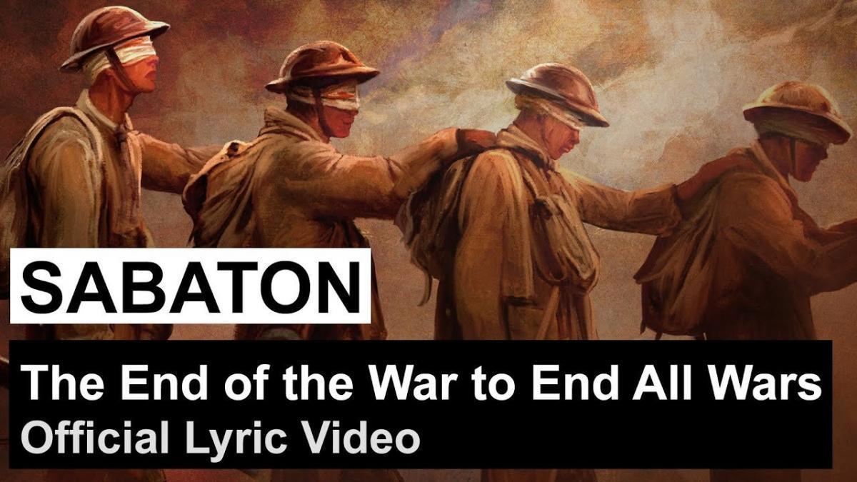 Sabaton sort une lyric vidéo pour The End of the War to End All Wars