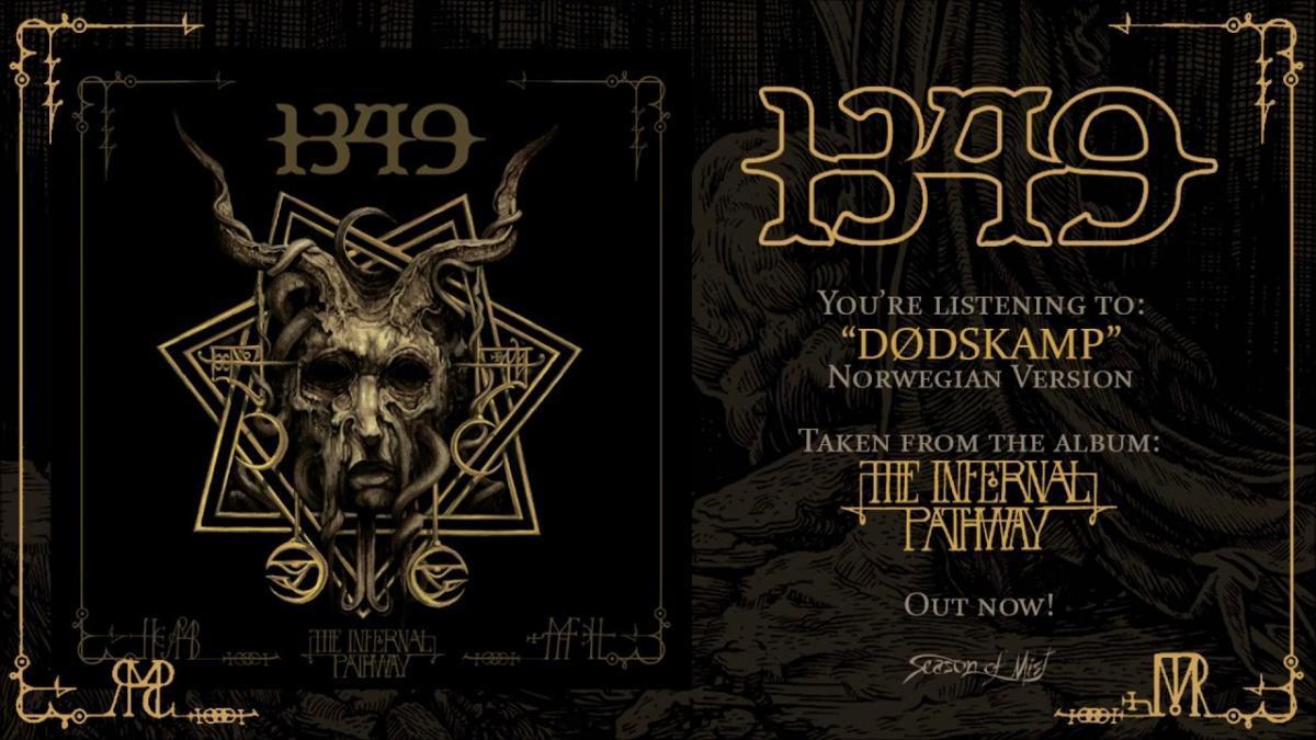 1349 publie une chanson bonus (Black Metal)