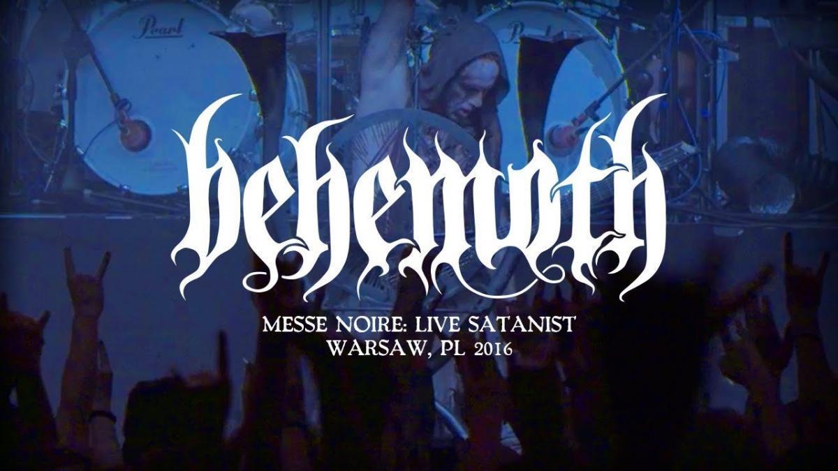 Regardez le concert de Behemoth nommé Messe Noire : Live Satanist (Warsaw 2016)