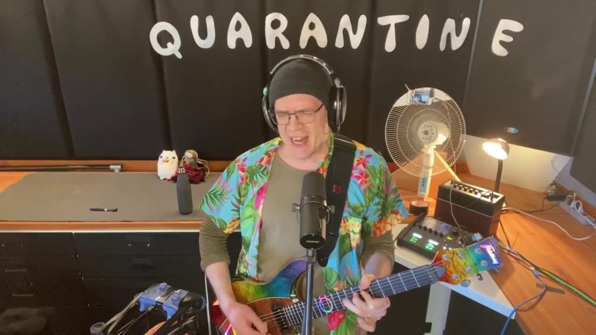 Devin Townsend partage la vidéo de son deuxième concert de bienfaisance ! (81 000 dollars pour le NHS)